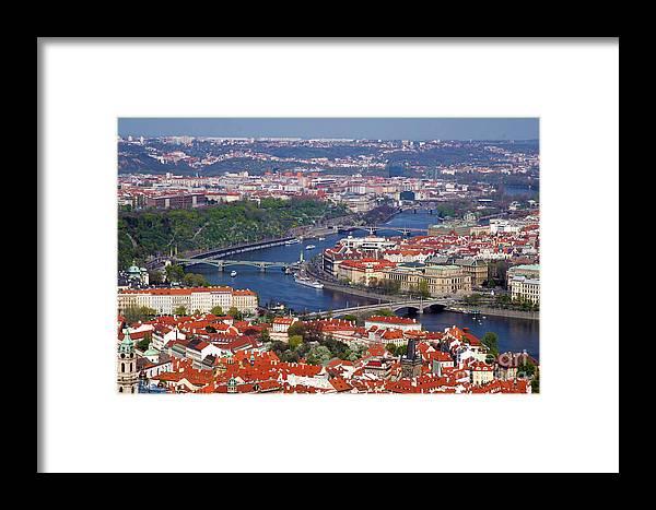 Praque Framed Print featuring the photograph Praque by Mopics Eu