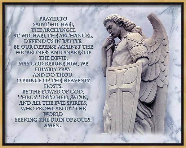 Prayer to St. Michael  by Samuel Epperly
