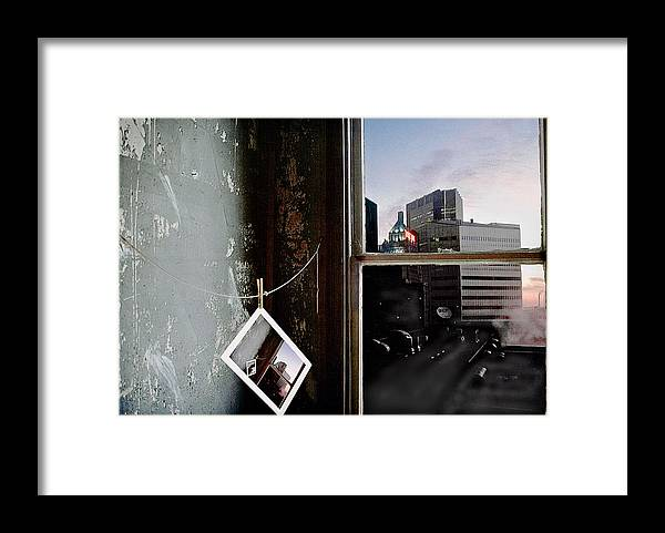 Window Framed Print featuring the photograph Pre-visualization by Peter J Sucy