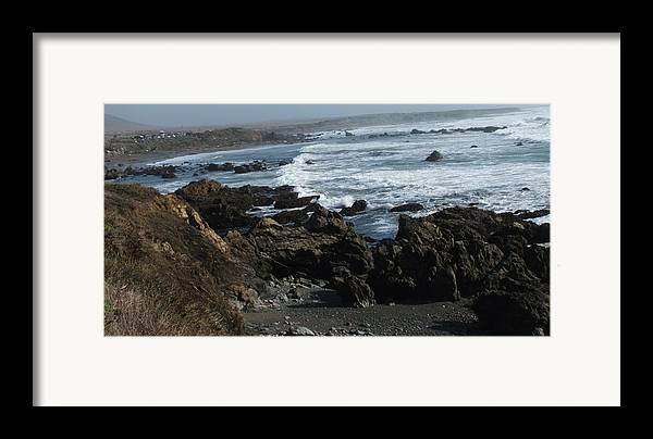 Landscape Framed Print featuring the photograph Precarious by Shari Chavira