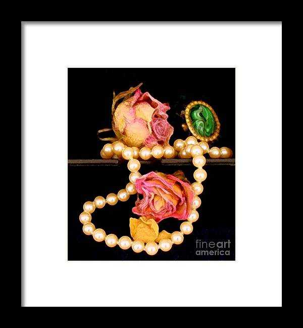 Floral Framed Print featuring the photograph Precious Moments by Fred Wilson