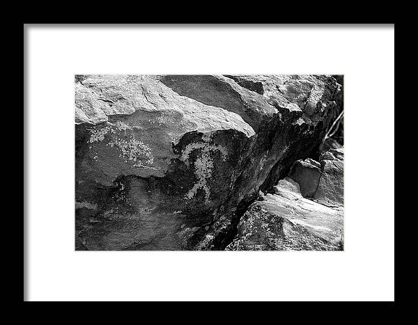 Arizona Desert Framed Print featuring the photograph Pregnant Woman by John Gee