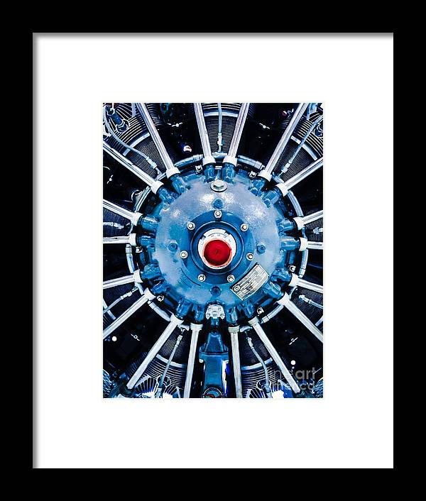 Propeller Framed Print featuring the photograph Prepare For Flight by Michael Gailey