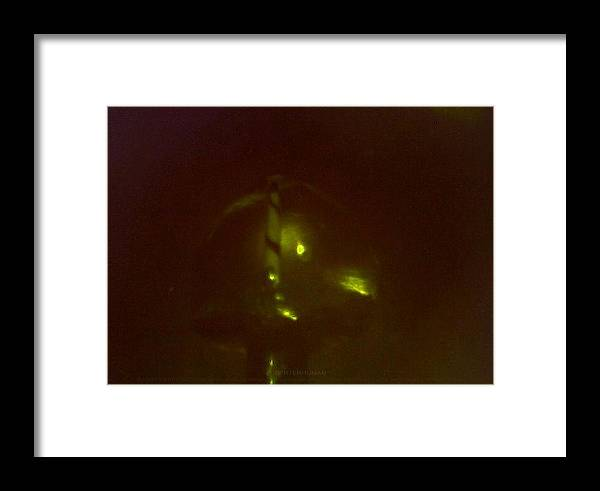 Abstract.micro Lighthouse Framed Print featuring the sculpture Preterhuman by Phillip H George