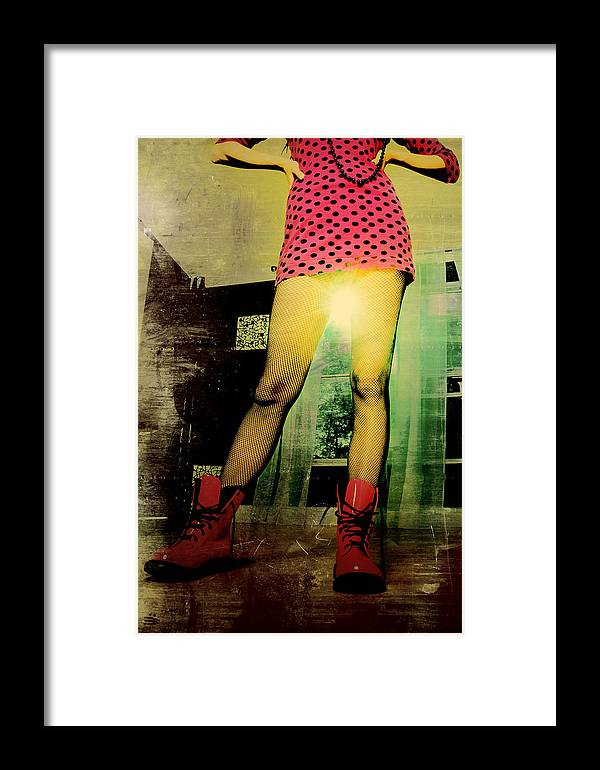 Pink Framed Print featuring the photograph Pretty In Pink by Russell Middleton