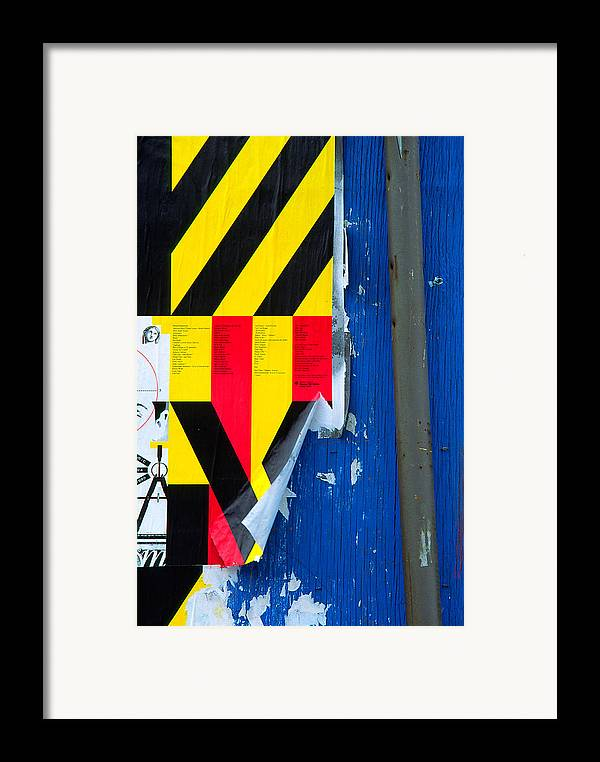 Color Framed Print featuring the photograph Primaries by Art Ferrier