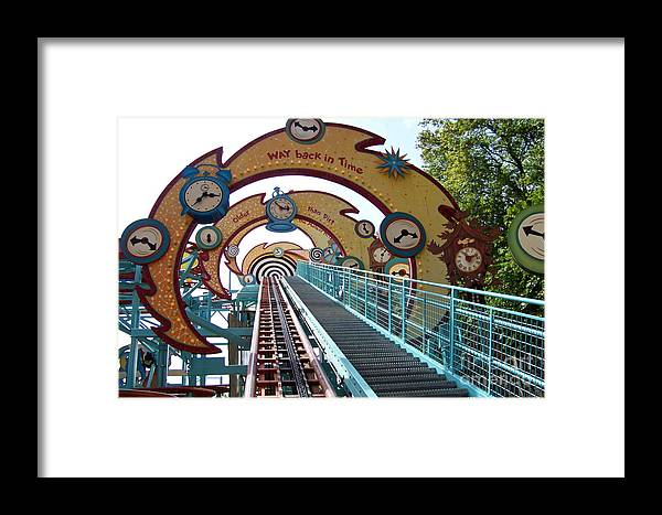 Wdw Framed Print featuring the photograph Primeval Whirl by Carol Bradley