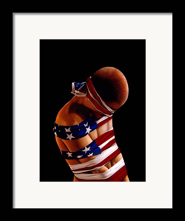 Philip Straub Framed Print featuring the painting Prisoner Of War by Philip Straub