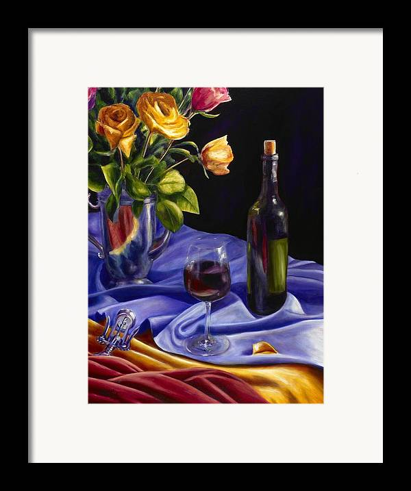 Still Life Framed Print featuring the painting Private Label by Shannon Grissom