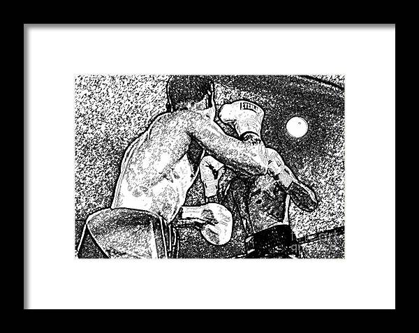 Prize Fighting Framed Print featuring the photograph Prize Fighters by David Lee Thompson