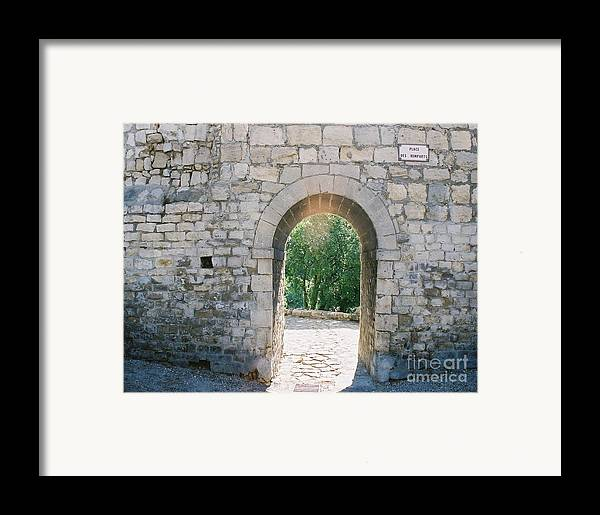 Promise Framed Print featuring the photograph Promise by Nadine Rippelmeyer