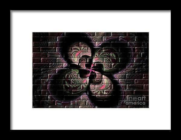 Digital Framed Print featuring the digital art Propel Into The Future by Deborah Benoit