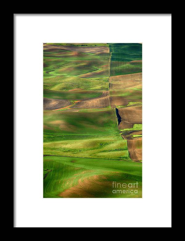 Beve Brown-clark Framed Print featuring the photograph Property Line by Beve Brown-Clark Photography