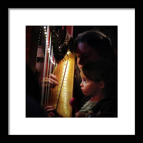 Irish Harp Kathleen Protege Framed Print featuring the photograph Protege by Scott Waters