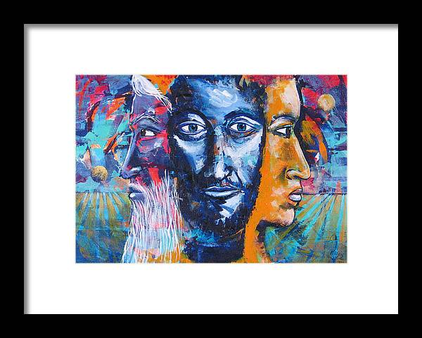 Past Framed Print featuring the painting Prudence by Rollin Kocsis