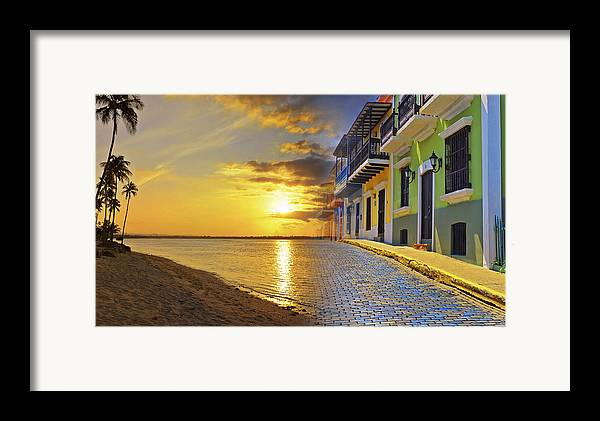 Puerto Rico Framed Print featuring the photograph Puerto Rico Montage 1 by Stephen Anderson
