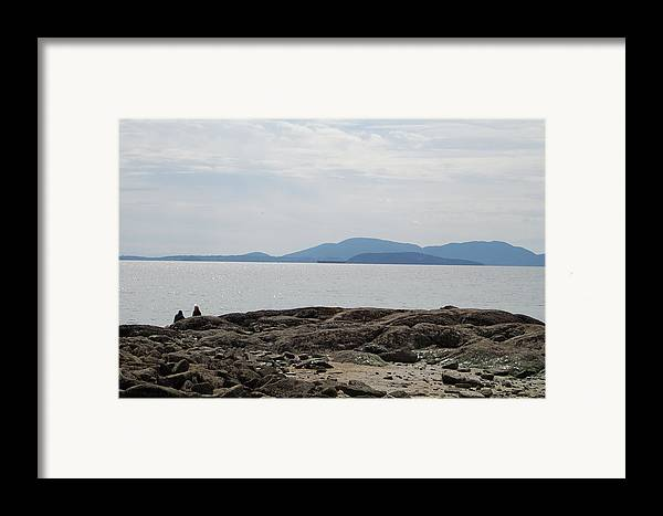 Islands Framed Print featuring the photograph Puget Sound Islands by J D Banks