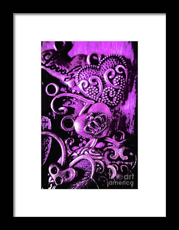 Purple Framed Print featuring the photograph Purple Heart Collection by Jorgo Photography - Wall Art Gallery