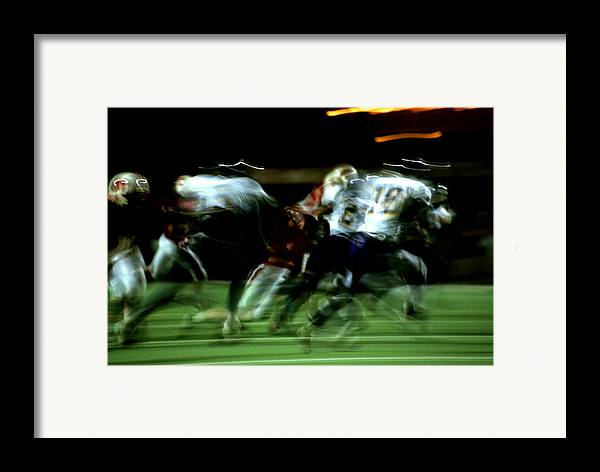 Photography Framed Print featuring the photograph Pursuit by Tom Fant