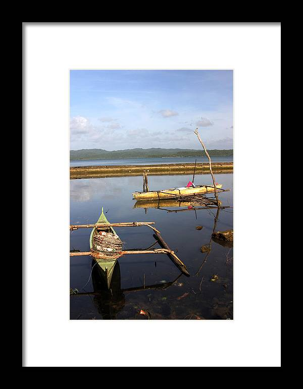 Photographer Framed Print featuring the photograph Put Out To Sea by Jez C Self