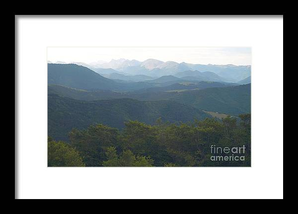Pyrenees Framed Print featuring the photograph Pyrenees by Alfredo Rodriguez