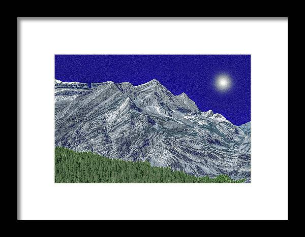 France Framed Print featuring the photograph Pyrenees Astazous Mountain by Jean-luc Bohin