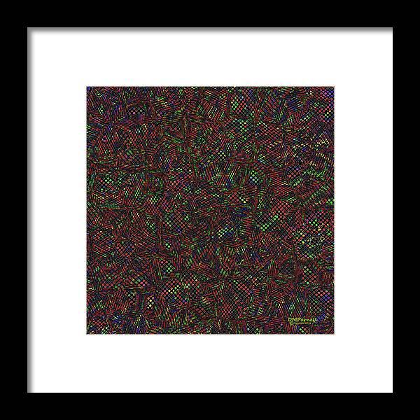 Python Framed Print featuring the digital art Python Daliescher by Diane Parnell