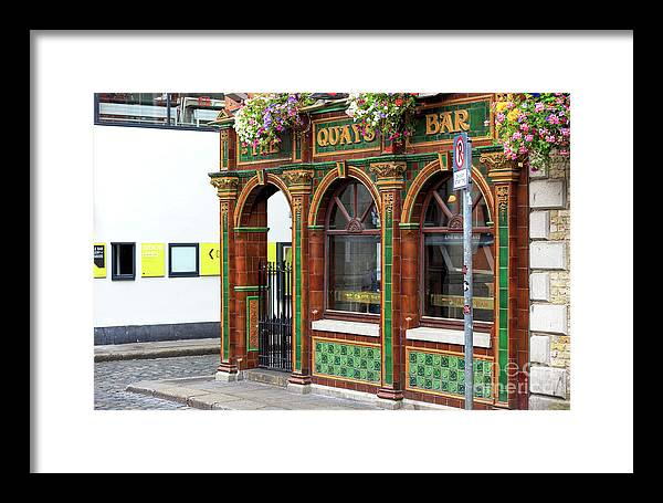 Quays Temple Bar Framed Print featuring the photograph Quays Temple Bar by John Rizzuto