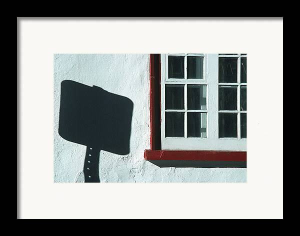 Quebec Framed Print featuring the photograph Quebec Shadow 2 by Art Ferrier