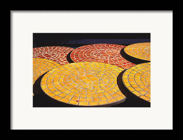 Quebec Framed Print featuring the photograph Quebec Tables 2 by Art Ferrier