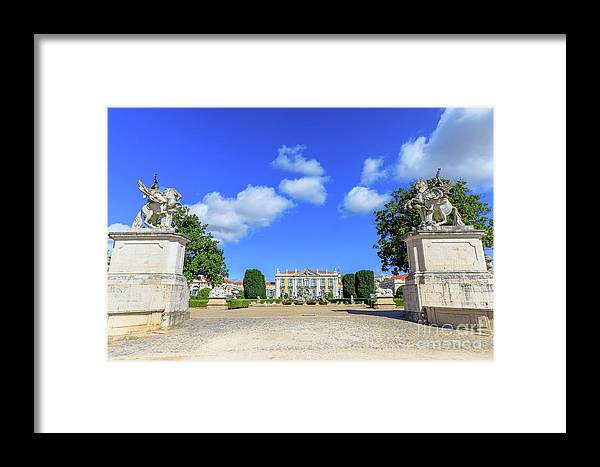 Sintra Framed Print featuring the photograph Queluz Palace Sintra by Benny Marty