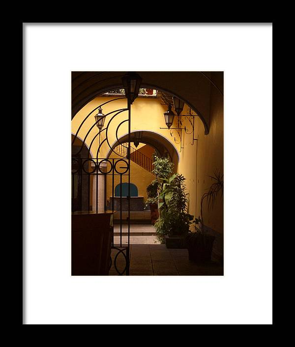 Photography Framed Print featuring the photograph Queretaro Classic by Kathy Simandl
