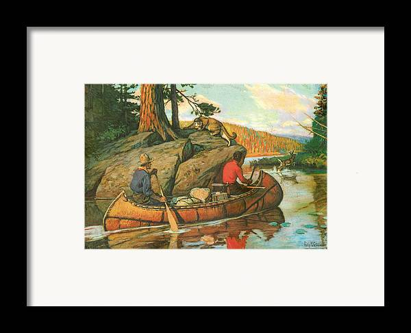 Phillip Goodwin Framed Print featuring the painting Quick Action by JQ Licensing