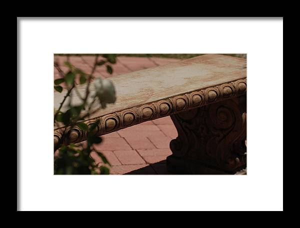 Quiet Framed Print featuring the photograph Quiet Place by Jean Booth