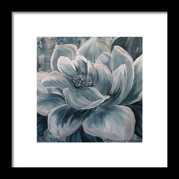 Framed Print featuring the painting Quietude by Amy Chenoweth