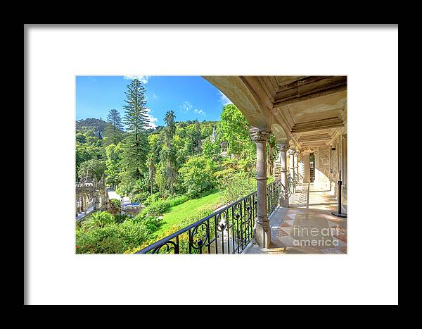 Sintra Framed Print featuring the photograph Quinta Da Regaleira by Benny Marty