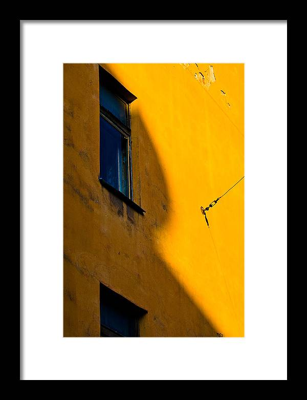 Wall Framed Print featuring the photograph R by Vadim Grabbe