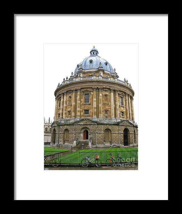Oxford Framed Print featuring the photograph Radcliffe Camera by Ann Horn
