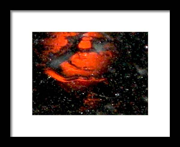 Lights Framed Print featuring the photograph Rain 3 by Stephen Hawks