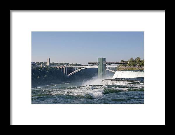 Rainbow Framed Print featuring the photograph Rainbow Bridge by Leanne Lei