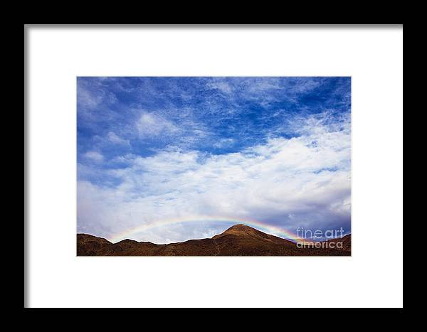 California Framed Print featuring the photograph Rainbow Canyon by Greg Clure
