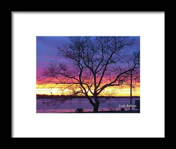 Sunset Framed Print featuring the photograph Rainbow Sunset by Robert Henne