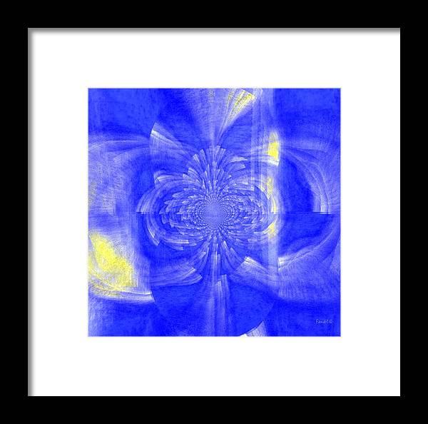 Faniart Framed Print featuring the digital art Raining In The Rain by Fania Simon
