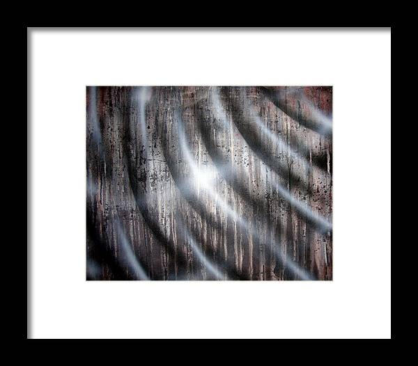 Rain Framed Print featuring the painting Raining by Leigh Odom
