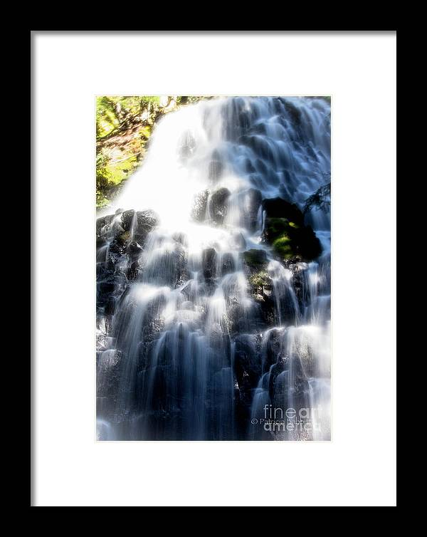 Columbia River Gorge Framed Print featuring the photograph Fairy Falls by Patricia Babbitt