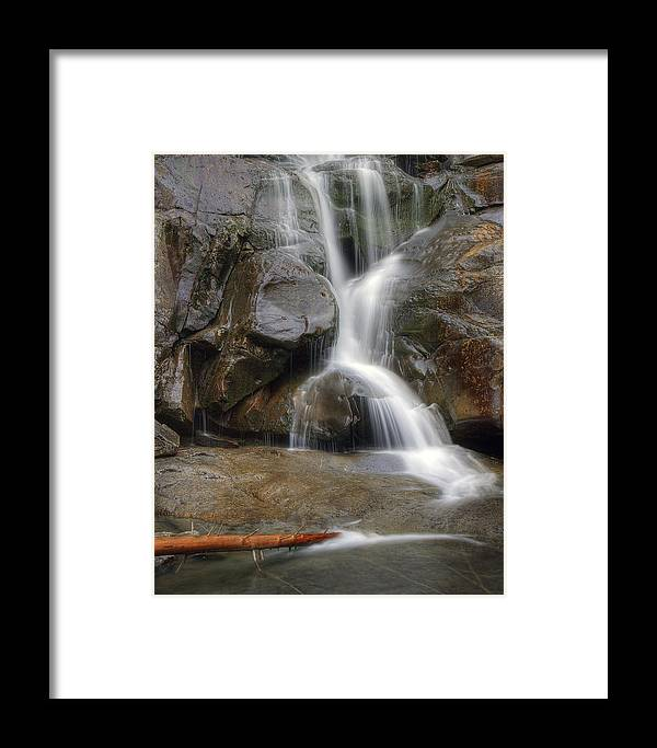 Ramsey Framed Print featuring the photograph Ramsey Cascades In Great Smoky Mountains National Park Tennesee by Brendan Reals