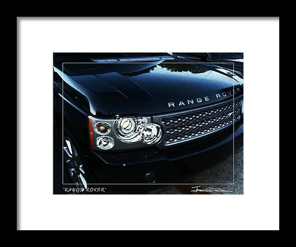 Color Framed Print featuring the photograph Range Rover by Jerrett Dornbusch