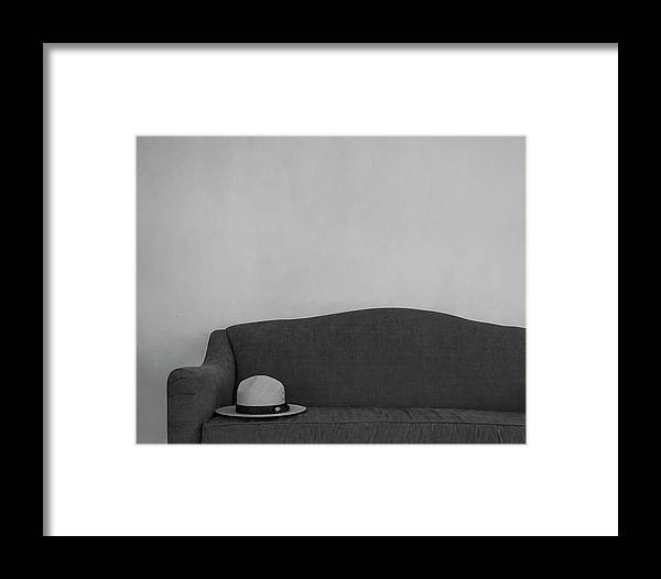 Hat Framed Print featuring the photograph Ranger Hat by Louise Reeves