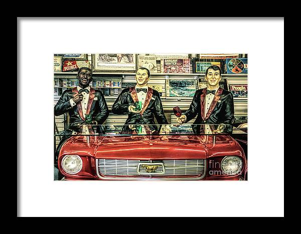 Rat Pack Framed Print featuring the photograph Rat Pack by Lynn Sprowl