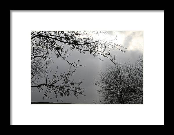 Clouds Framed Print featuring the photograph Ray Of Hope IIi by Janey Loree